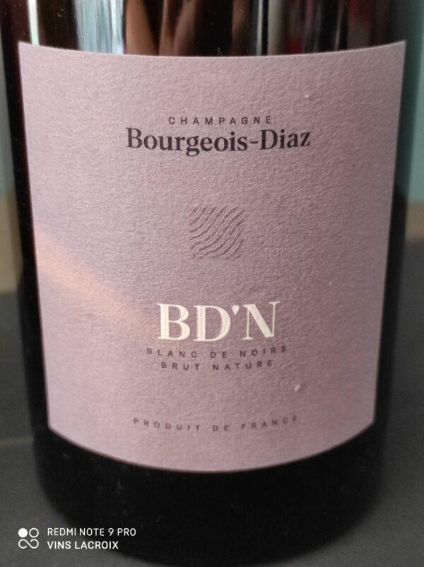 bourgeois diaz N champagne